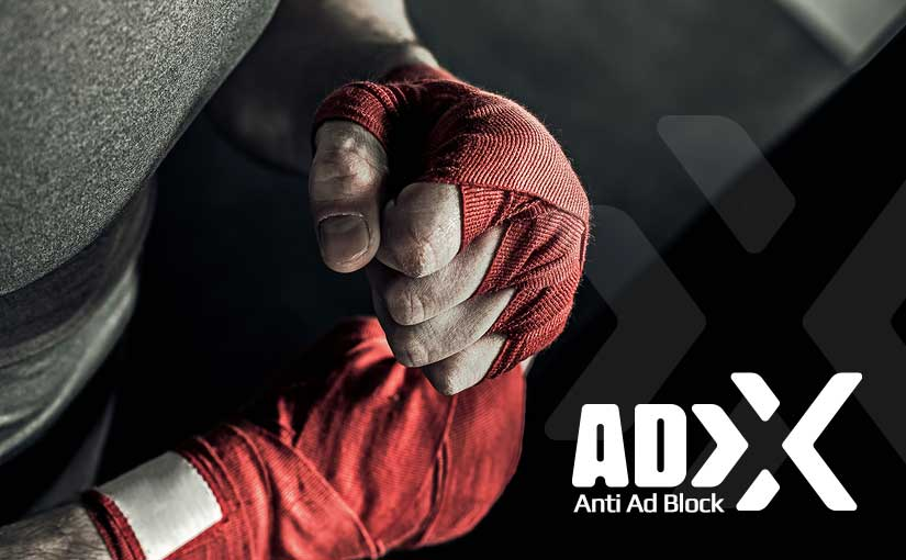 Fight with ad blockers!
